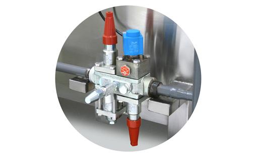 Válvula de Entrada de Liquido Refrigerante