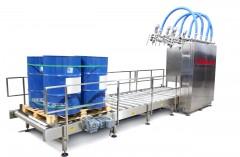 Envasadora Automática de Tambores, Bolsas e Bins Paletizados