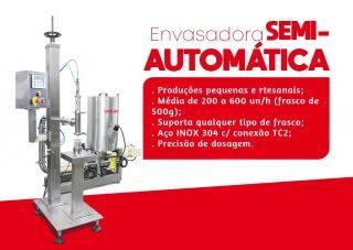 Envasadora Semi-Automática - Dosador um bico